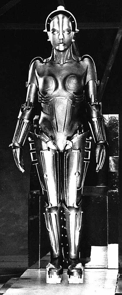 Metropolis Robot C3po