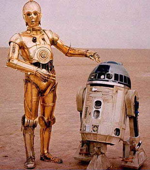 3CPO and R2D2